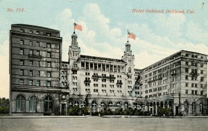 Oakland Hotel, Oakland, California, mailed 1914